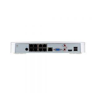 DHI-NVR4108-8P-4KS2 8 Channel Smart 1U 8PoE 4K&H.265 Lite Network Video Recorder