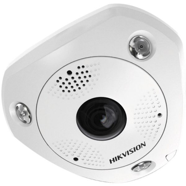 Hikvision DS-2CD6362F-I Network Surveillance Camera 1.27mm Lens 6 MP 3072 X 2048 White