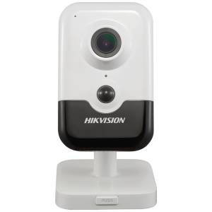 Hikvision 4 MP IR PIR H.265+ Fixed Cube Network WIFI Camera PoE EXIR WDR Built-in Micro SD MicrophoneSpeakers DS-2CD2443G0-IW