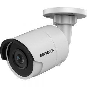 Hikvision 4MP H.265+ Outdoor IR Network Bullet Camera Darkfighter Night Vision Support SD Card DS-2CD2045FWD-I