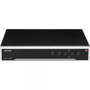 Hikvision NVR DS-7732NI-I416P 4K UHD 32 Channel 16 Ports POE Network Video Recorder Plug & Play Integrated 12MP Resolution Recording ONVIF
