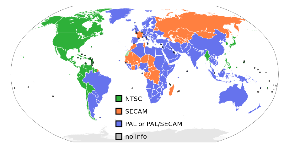NTSC System or PAL